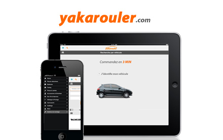 En support sur la version mobile - m.yakarouler.com